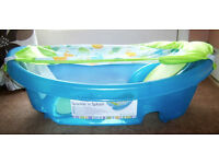 Summer Infant Sparkle 'n' Splash Bath Tub - Blue