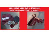 ALKO HITCH LOCK TYPE 2 CARAVAN SECURITY HITCHLOCK ETI811203 REDUCED