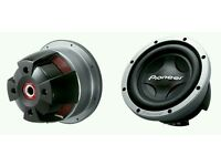 "12"" subwoofer pair 3000W each"