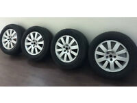 """Land Rover Discovery 4 Wheels 18"""" X4 With Good Tyres"""