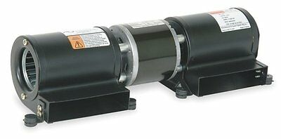 Low Profile Blowers - Dayton Model 1TDU8 Low Profile Blower 115V for Fireplace or Wood Stove (4C826)
