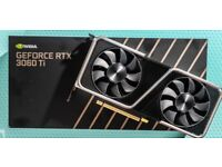 RTX 3060TI founders edition Brand new