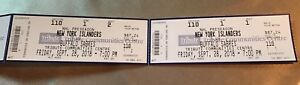 Buffalo sabres vs New York islanders in Oshawa hard tickets