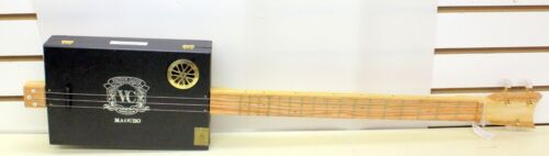 Victor Calvo Maduro  Handmade Cigar Box Guitar Acoustic/Electric 3-String