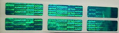 500 Swl Green Warranty Protection Security Label Stickers Tamper Evident Seals