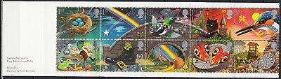 Great Britain Booklet Greetings Stamps 1991 MNH-25 Euro