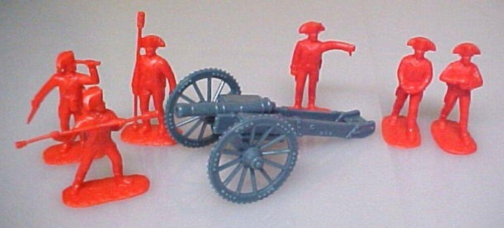 British Redcoat Artillery Aip Plastic Soldiers Army Men 5479