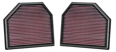 K&N REPLACEMENT AIR FILTER FOR 14-18 BMW M3 M4 3.0L V8 33-2488