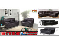 Candy black and brown sofa
