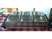 3 x Container Food Warmer ( VGC and good working order ) - just £ 25