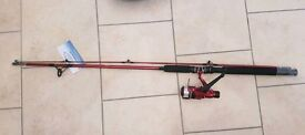Fladen 210cm fishing rod and reel