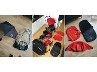 Bugaboo Chameleon Buggy Pram Pushchair Birth To Toddler Travel System + Carry bag.