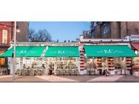 Waiting Staff - Competitive Salary