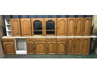 Schriber Real Wood doors / units Can deliver uk