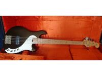 Fender American Deluxe Dimension Bass V - Modern 5-string Bass - Root Beer Finish