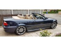 BMW E46 330Ci Sport Convertible with soft and hard roof