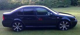 VW Bora 1.9 Tdi 96kw 6 gears 2002 Reg Black