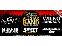 Concert at the Kings 20th May 2 x Tix - Sweet, Alison Moyet, Gerry & The Pacemakers, Wilko Johnson