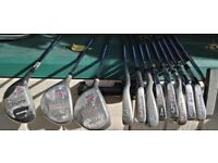 LEFT HANDED GOLF CLUB SET (8 Irons & 3 Drivers & Putter)