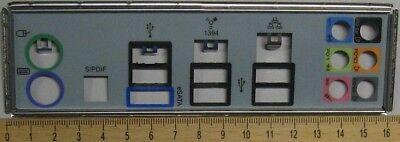 ATX Blende IO I/O Shield Abdeckung für MSI X58 Pro & MSI X58 Pro-E MS-7522