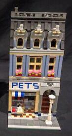 Lego Modular Pet Shop Building
