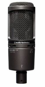 Audio-Technica AT2020USBPLUS Deluxe USB Cardioid Condenser Micro