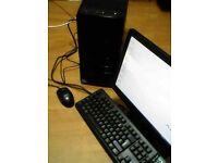 ADVENT Sc9104 DESKTOP 2.6Ghz dual core,fresh install of windows and 2gb ram , monitor / keyboard etc