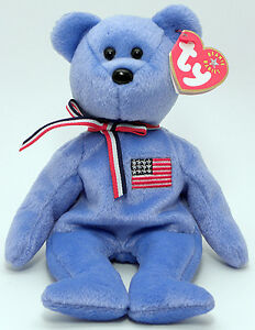 America the September 11th USA Bear Ty Beanie Baby Kitchener / Waterloo Kitchener Area image 1