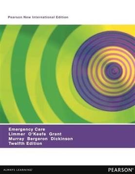 Emergency Care: Pearson New International 9781292054209