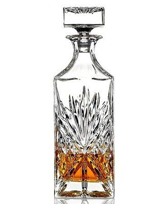 James Scott Lead Free Crystal Liquor Whiskey and Wine Decanter Irish Cut 1 Piece