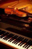 Piano and Violin lessons, trained in Germany