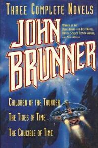 Three Complete Novels by John Brunner (1995) 1st Ed. HC