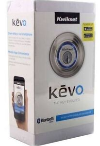Kevo smart lock with keyless bluetooth touch