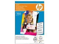 Hewlett Packard [HP] Premium 100x150mm 240gsm Glossy Photo Paper Ref Q8032A [100 Sheets]