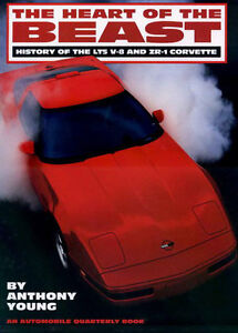 CORVETTE ZR1 LT5 HEART OF THE BEAST BOOK ENGINE 1990 1991 1992 1993 1994 1995 GT
