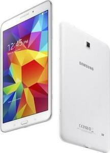 UNLOCKED SAMSUNG TAB 4 8' WITH CELLULAR + WIFI
