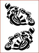 Racing Bike Stickers