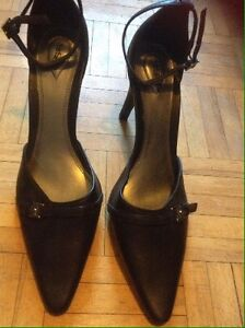 3 Pairs of Size 8 Leather Heels