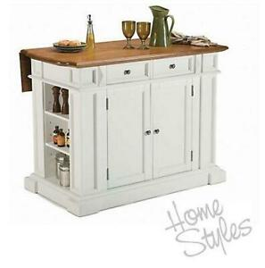 NEW* HOME STYLES KITCHEN ISLAND 5002-94 243231851 AMERICANA DROP LEAF 3 BOXES