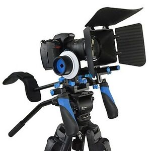 Rl-02 Professional Shoulder Support Rig for DSLR and Camcorder