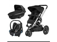Quinny buzz travel system. Foldable carry cot. And maxi cosi car seat. £120 Ono.
