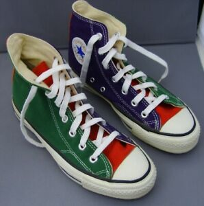 Original 1983 Chuck Taylor Converse All-Star Tri-Colour Shoes