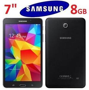 "NEW OB  SAMSUNG GALAXY TAB 4 TABLET 7"" 8GB WIFI ANDROID TABLET BLACK 105870620"