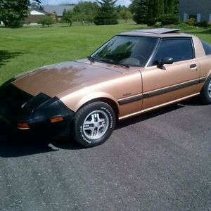1983 Mazda RX7 Possible trade for 4 wheeler,side by side Peterborough Peterborough Area image 8
