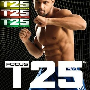 "Beachbody Shaun T's ""Focus T25: Alpha, Beta & Gamma"" Workouts"