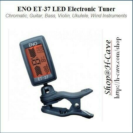 ENO ET-37 Clip-On LED Tuner for Strings & Wing Musical Instruments. (BNIB)