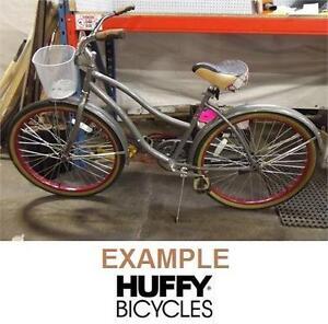 "NEW HUFFY CRANBROOK CRUISER 26"" - 112634075 - BIKE BICYCLE WOMEN'S GREY GRAY"