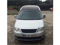 VW Caddy 1.9TDI Silver 80k