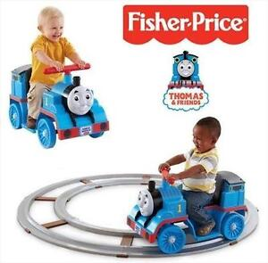 NEW POWER WHEELS THOMAS W/ TRACK THOMAS  FRIENDS - RIDE ON TOY - WORKS ON OR OFF TRACK 109315382