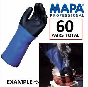 MAPA THERMA INSULATED GLOVES SIZE XL ,58 pairs